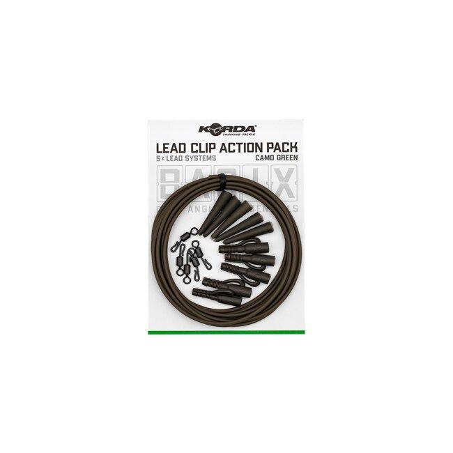 Korda Basix Lead Clip Action Packs