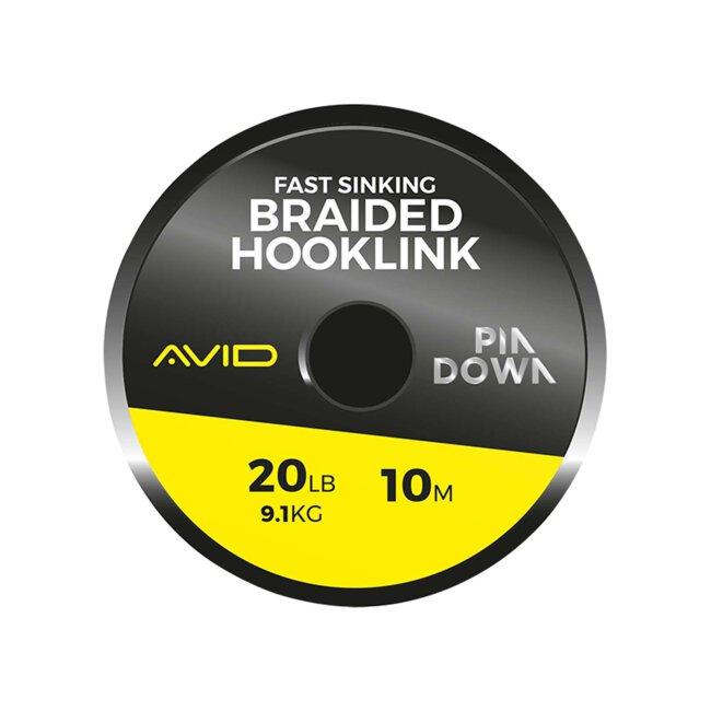 Avid Carp PINDOWN BRAIDED HOOKLINK 20LB