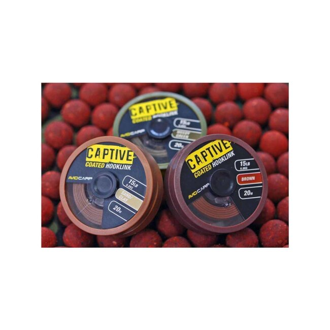 Avid Carp CAPTIVE COATED HOOKLINK