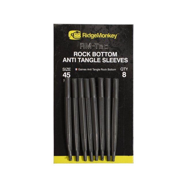 RidgeMonkey Rock Bottom Anti Tangle Sleeves 45mm