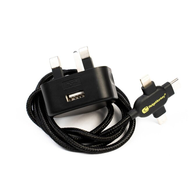 RidgeMonkey Vault 12W USB Mains Power Adaptor