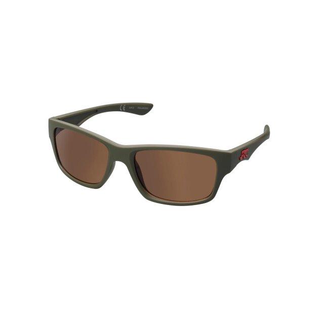 JRC Stealth Extreme Sonnenbrille Matt Moss/Copper