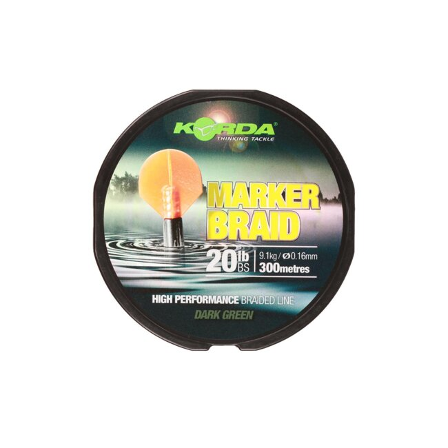 Korda Marker Braid 20lb, 0,16mm - 300m