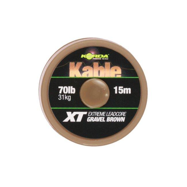 Korda Kable XT Extreme Leadcore 70lb 15m